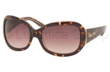Ralph RA5013 Progressive Prescription Sunglasses RA5013-522-13-5818 - Lens Diameter 58 mm, Frame Color Dark Tortoise / Milky White