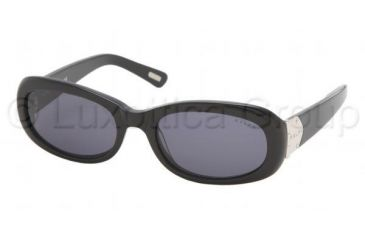 Ralph RA 5029 Sunglasses Styles Black Frame / Gray Lenses, 501-87-5218, Ralph RA 5029 Sunglasses Styles Black Frame / Gray Lenses