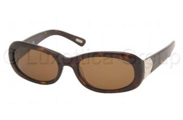 Ralph RA 5029 Sunglasses Styles Dark Tortoise Frame / Brown Lenses, 510-73-5218, Ralph RA 5029 Sunglasses Styles Dark Tortoise Frame / Brown Lenses