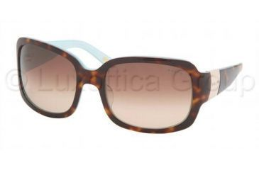 Ralph RA5031 Single Vision Prescription Sunglasses RA5031-601-13-5819 - Lens Diameter 58 mm, Frame Color Light Tort / Turquoise