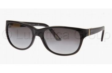 Ralph RA 5087 Sunglasses Styles Black Frame / Gray Gradient Lenses, 501-11-5717