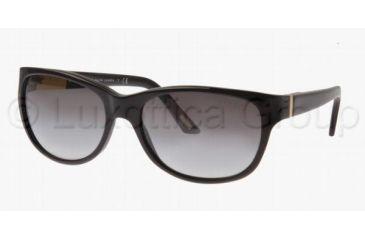 9003438494 Ralph RA 5087 Sunglasses Styles Black Frame   Gray Gradient Lenses