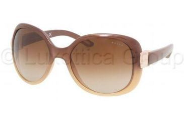 Ralph RA 5106 Sunglasses, Brown Gradient Frame / Brown Gradient Lenses, 858 13 5718