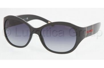 Ralph RA 5110 Sunglasses Styles - Black Frame / Gray Gradient Lenses, 501-11-5617