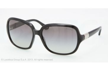 Ralph RA 5149 RA5149 Single Vision Prescription Sunglasses RA5149-501-11-58 - Lens Diameter 58 mm, Lens Diameter 58 mm, Frame Color Black