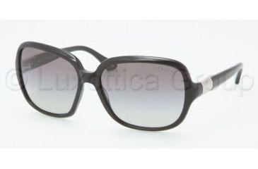 Ralph RA 5149 RA5149 Sunglasses 501/11-5815 - Black Frame, Gray Gradient Lenses