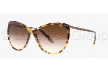 Ralph RA 5150 RA5150 Sunglasses 504/13-5915 - Spotty Tort Frame, Brown Gradient Lenses