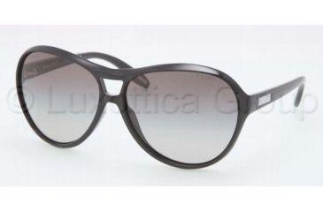 Ralph RA 5151 RA5151 Sunglasses 501/11-6013 - Black Frame, Gray Gradient Lenses