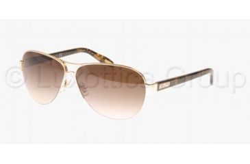 Ralph RA4095 RA4095 Sunglasses 106/13-5811 - Gold Frame, Brown Gradient Lenses