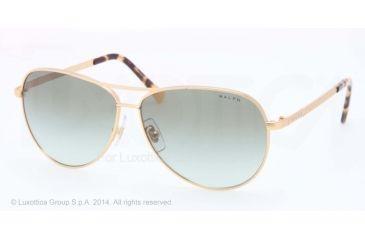 5587895666 Ralph RA4109 Sunglasses 223 8E-59 - Satin Gold Frame