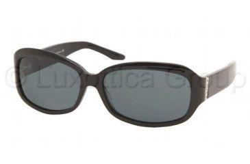 fd0db7f9e2 Ralph RA5017 Sunglasses Styles - Black Frame w  Gray 59 mm Diameter Lenses