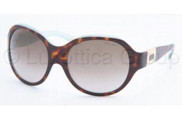 afa6c0d00b Ralph RA5053 Sunglasses Styles Light Tort Turquoise Frame w  Brown Gradient  58 mm Diameter