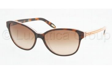 Ralph RA5128 RA5128 Sunglasses 977/13-5515 - Amber/Orange Stripes Brown Gradient