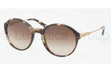 Ralph RA5134 Single Vision Prescription Sunglasses RA5134-905-13-5219 - Lens Diameter 52 mm, Frame Color Vintage Tort