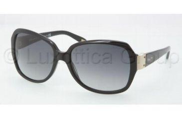 Ralph RA5138 Sunglasses 501/11-5816 - Black Frame, Gray Gradient Lenses