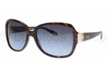 Ralph RA5138 Sunglasses 510/13-5816 - Dark Tortoise Frame, Brown Gradient Lenses