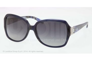 Ralph RA5138 Sunglasses 511/T3-58 - Blue Frame, Grey Gradient Polarized Lenses