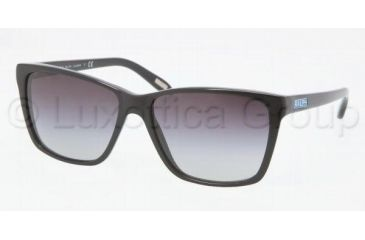 Ralph RA5141 Sunglasses 501/11-5715 - Black Frame, Gray Gradient Lenses