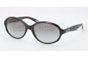 Ralph RA5159 RA5159 Sunglasses 501/11-5816 - Black Frame, Gray Gradient Lenses