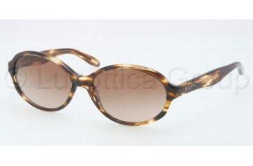 Ralph RA5159 RA5159 Single Vision Prescription Sunglasses RA5159-510-13-5816 - Lens Diameter 58 mm, Frame Color Dark Tortoise