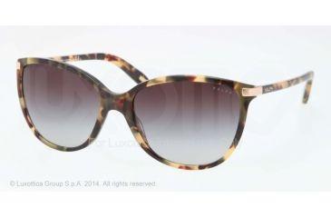 Ralph RA5160 RA5160 Sunglasses 905/13-57 - Vintage Tort Frame, Smoke Gradient Lenses