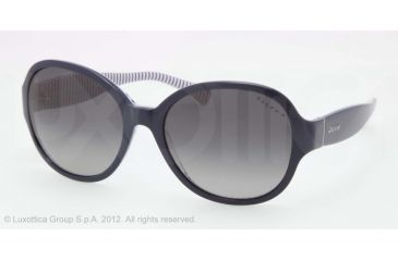 Ralph RA5167 RA5167 Sunglasses 1156T3-56 - Navy/Blue Stripes