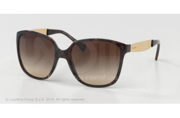 Ralph RA5173 Sunglasses 502/13-55 - Tortoise Frame, Brown Gradient Lenses