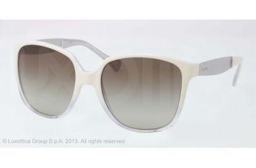 Ralph RA5173 Sunglasses 790/11-55 - White Crystal Frame, Grey Gradient Lenses