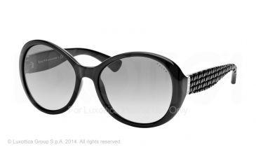 ff3e29b50d Ralph RA5175 RA5175 Sunglasses 50111-56 - Black Frame