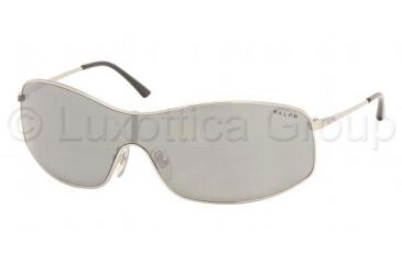 Ralph Sunglasses RA4002 - Light Silver Frame w/ Gray Mirror Silver Gradient Lens