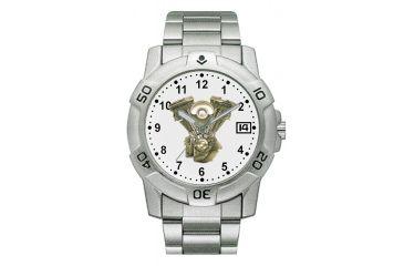 RAM Instrument V1D24 Chrome Biker Watch V Twin With Date