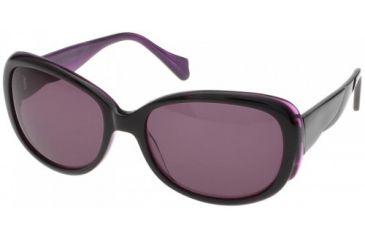 Randees Kandees 3 Single Vision Rx Sunglasses - Burgundy-Caramel Frame, Burgundy-Caramel, 57-18-135 RK3-302RX