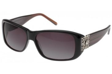 Randees Kandees 8 Bifocal Rx Sunglasses - Brown-Red Striated Frame, Brown-Red Striated, 58-14-130 RK8-804BF
