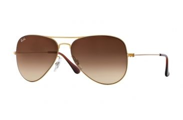 e3d38486046 Ray-Ban AVIATOR FLAT METAL RB3513 Sunglasses 149 13-58 - Demi Gloss