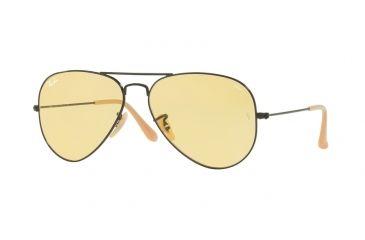 Ray-Ban Aviator Large Metal Sunglasses RB3025 90664A-55 - Matte Black Frame, e05e835974