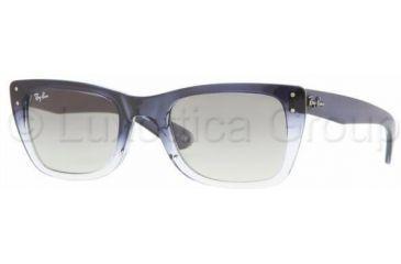 9a7e5c06df Ray-Ban Caribbean Sunglasses RB4148 822 32-5222 - Blue Gradient Transparent  Crystal