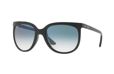 251a7692ca Ray-Ban Cats 1000 Sunglasses RB4126 601 3F-57 - Black Frame