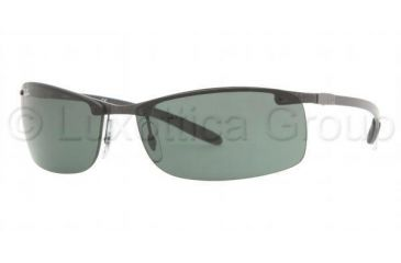 c1c8a2b87e Ray-Ban Cl Carbon Lite Sunglasses RB8305 082 71-6414 - Dark Carbon