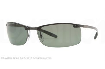 Ray-Ban RB8305 Progressive Prescription Sunglasses RB8305-082-9A-63 - Lens Diameter 63 mm, Frame Color Dark Carbon
