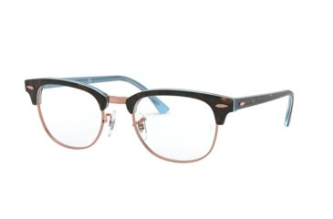 ff4d12fcf1 Ray-Ban Clubmaster Eyeglasses RX5154 with Lined Bifocal Rx Prescription  Lenses 5885-51 -