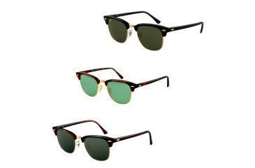 1be590837907 Ray-Ban Clubmaster Sunglasses RB3016