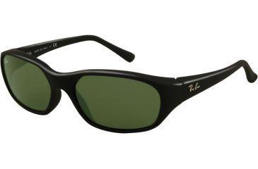 Ray-Ban Daddy - O RB2016 Progressive Sunglasses - Matte Black Frame w/ Crystal Green 59 mm Diameter Lenses, W2578-5917