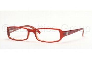 Ray-Ban Eyeglass Frames RX5083, 50 mm Lense Diameter / Red / Orange Frame w/Non-Rx Lenses