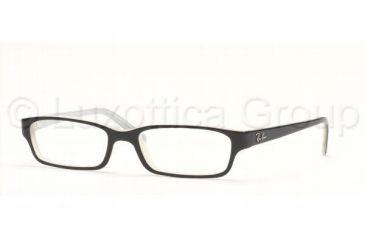 Ray-Ban Eyeglass Frames RX5085 2148 -5016 - Top Black On Ice