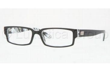407475d998 Ray-Ban Eyeglass Frames RX5144 2468-5315 - Top Black On White Horn Frame