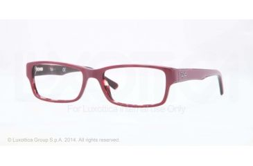 Ray-Ban Eyeglasses RX5169 with Rx Prescription Lenses 5236-52 - Top Red On Havana Frame