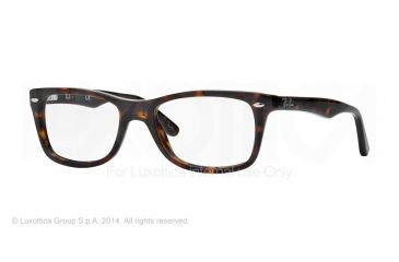 Ray-Ban Eyeglasses RX5228 with Rx Prescription Lenses 2012-55 - Dark Havana Frame