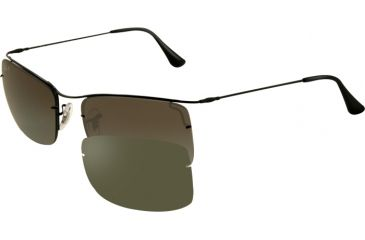 659372cf87 Ray-Ban FLIP OUT RB3499 Sunglasses 002 T3-5818 - Black Frame