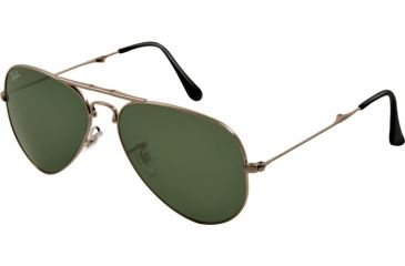 Ray-Ban Folding Aviator RB3479 Sunglasses 004-5814 - Gunmetal Frame, Crystal Gray Lenses