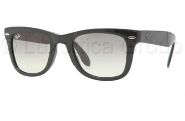 Ray-Ban Folding Wayfarer Bifocal Sunglasses RB4105 with Lined Bi-Focal Rx Prescription Lenses RB4105-601-32-5022 - Frame Color: Black, Lens Diameter: 50 mm